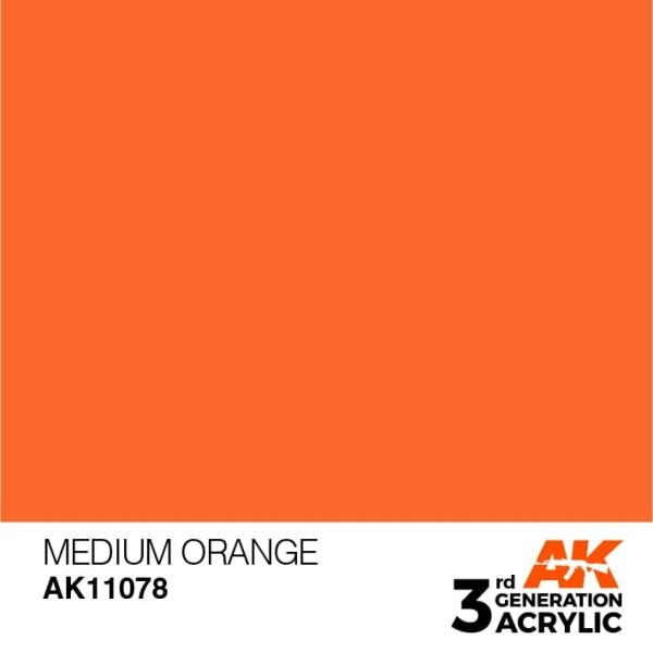 Medium Orange - Standard