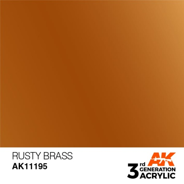 Rusty Brass - Metallic
