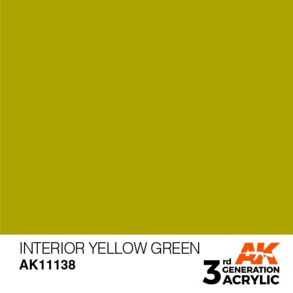 Interior Yellow Green - Standard