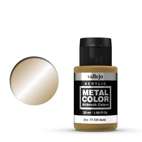 Vallejo Metal Color 725 Gold 32 ml.