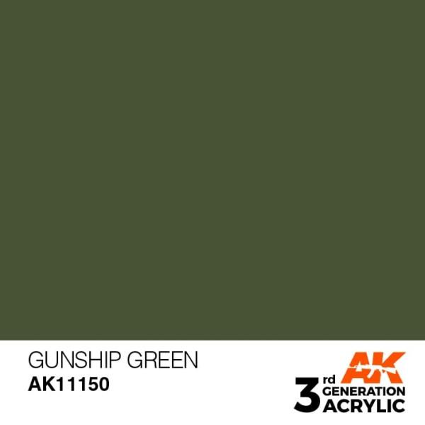Gunship Green - Standard