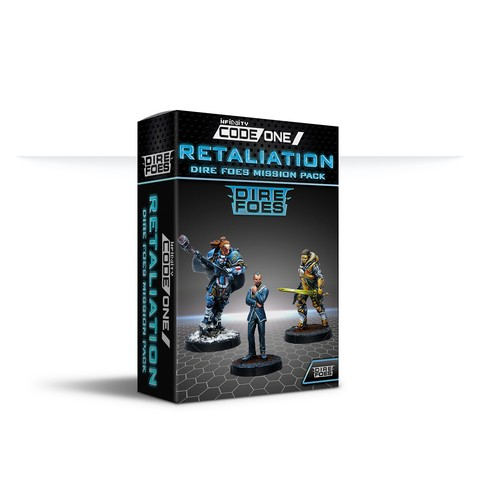 Dire Foes Mission Pack Alpha: Retaliation box