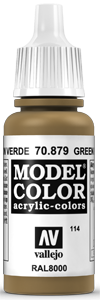 114 Grünbraun (Green Brown)