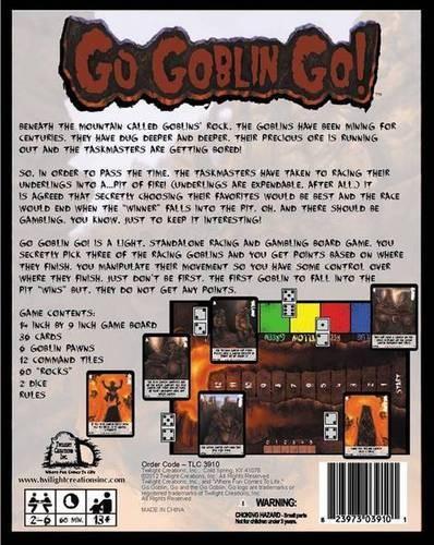 Go Goblin, Go! ENGLISCH