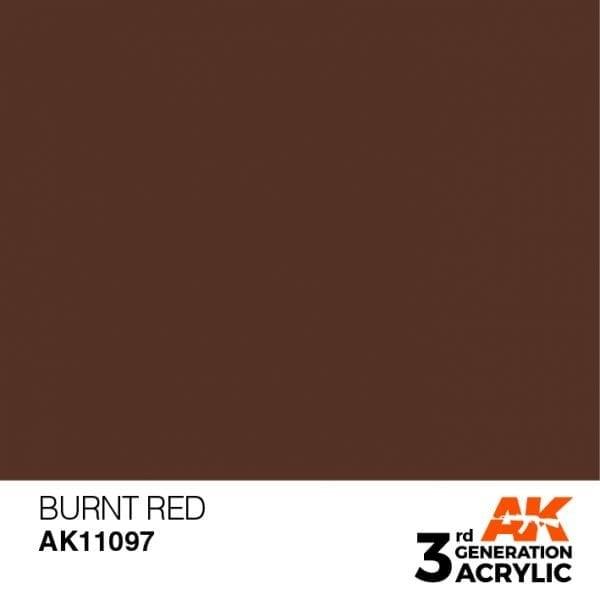 Burnt Red - Standard