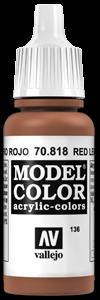 136 Rotes Leder Red Leather)