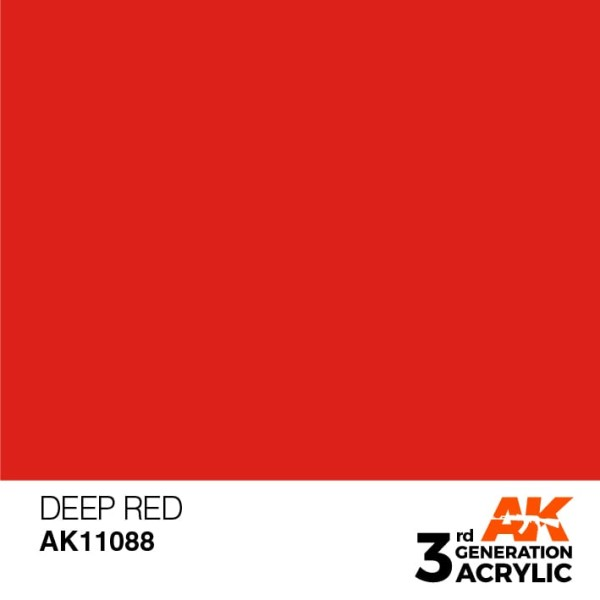 Deep Red - Intense
