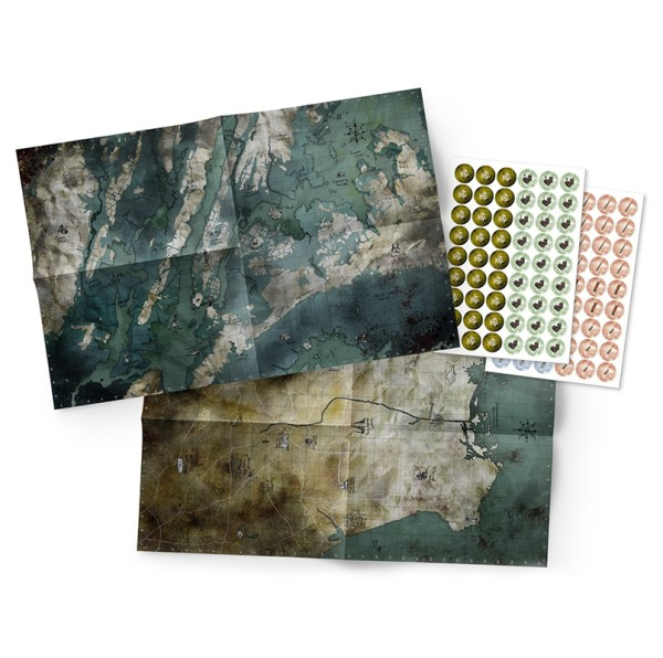 Mutant: Jahr Null – Landkarten- & Markerpack
