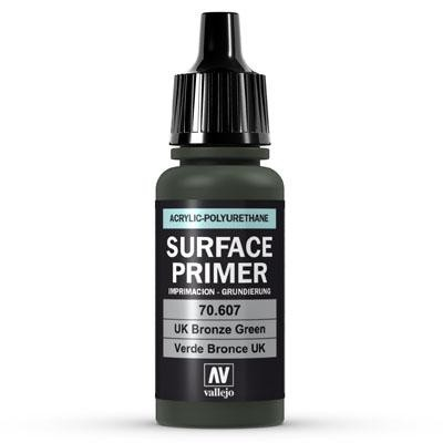 Vallejo Surface Primer U.K. Bronze Green 17ml