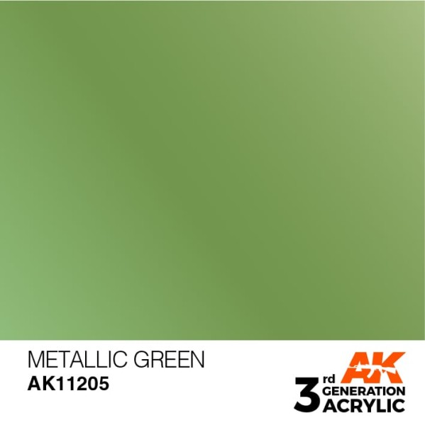 Metallic Green - Metallic