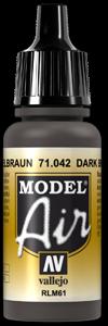042 Camouflage Black Brown, 17 ml