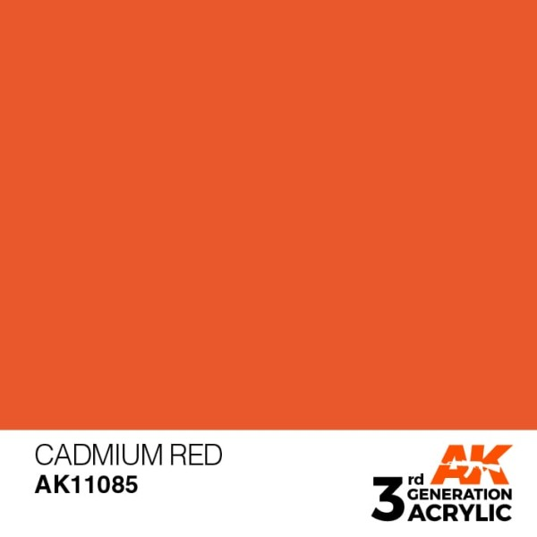 Cadmium Red - Standard