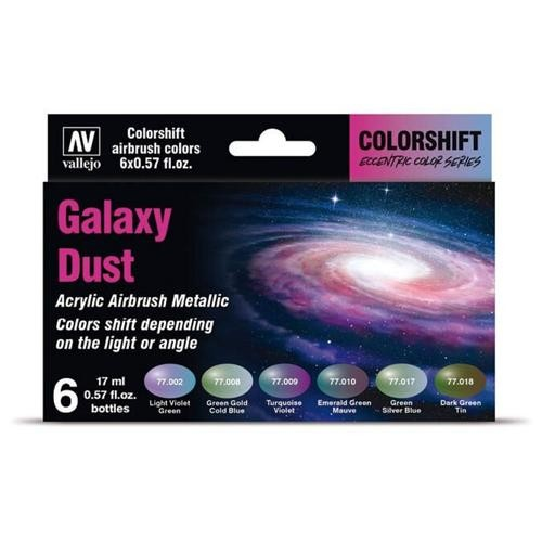 Colorshift Set - Galaxy Dust (6x 17ml)
