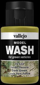 Model Wash 512 Dark Green