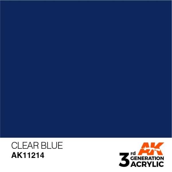Clear Blue - Standard