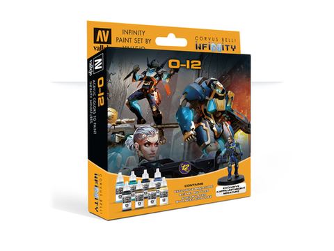 Model Color Set: Infinity O-12 Exclusive Miniature