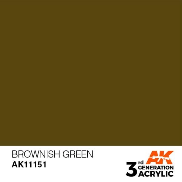 Brownish Green - Standard