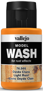 Model Wash 505 Light Rust