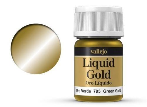 216 Grüngold Metallics (Alkohol-Basis)