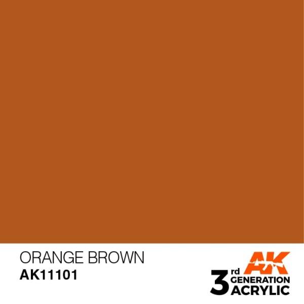 Orange Brown - Standard