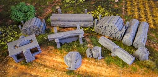 City of Tarok: Woodcutter
