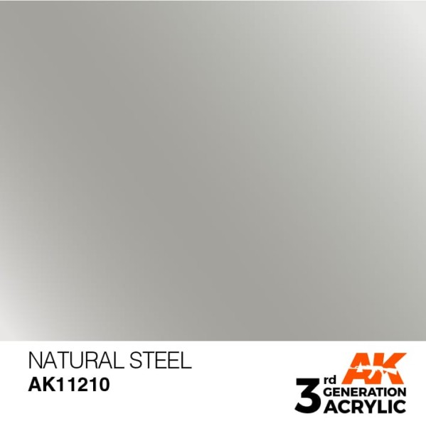 Natural Steel - Metallic