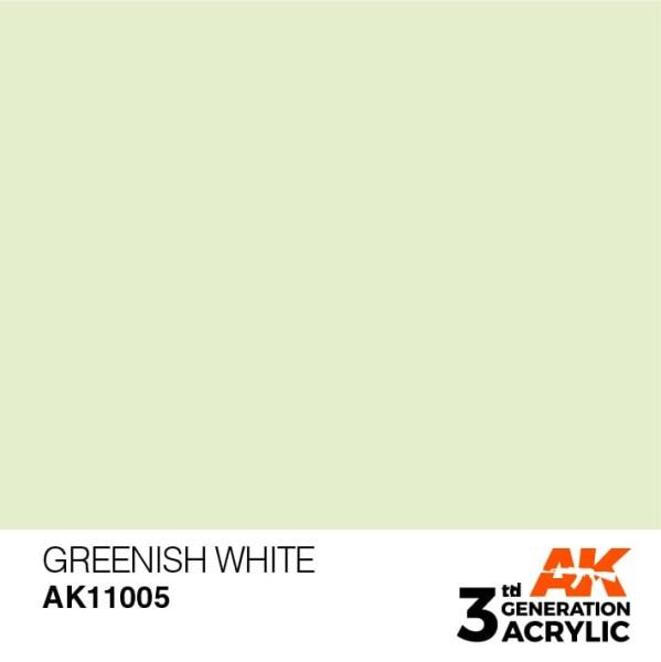Greenish White - Standard