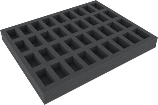 35 mm Full-Size Schaumstoffeinlage mit 36 Fächern