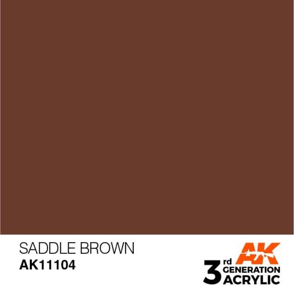 Saddle Brown Standard