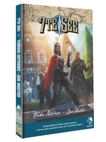 7te See Nationen von Théah - Der Westen (Hardcover)