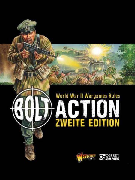 Bolt Action Zweite Edition Regelbuch