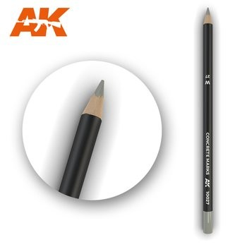 Weathering Pencil Concrete Marks