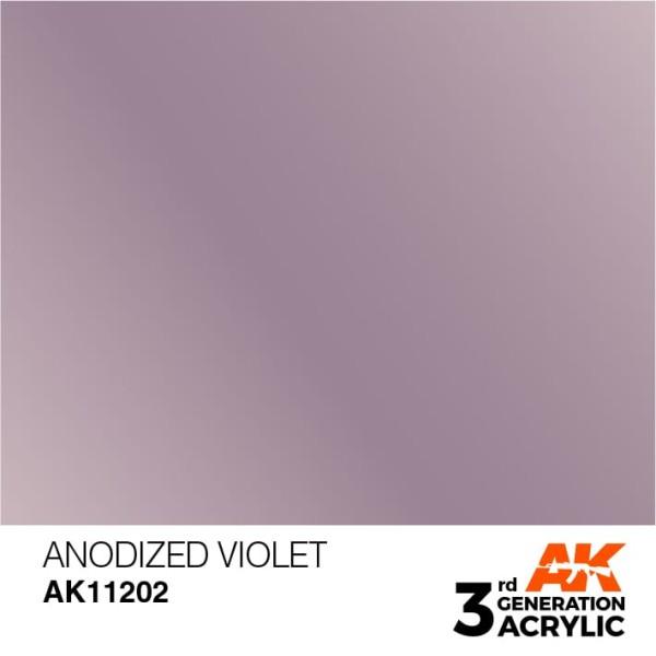 Anodized Violet - Metallic