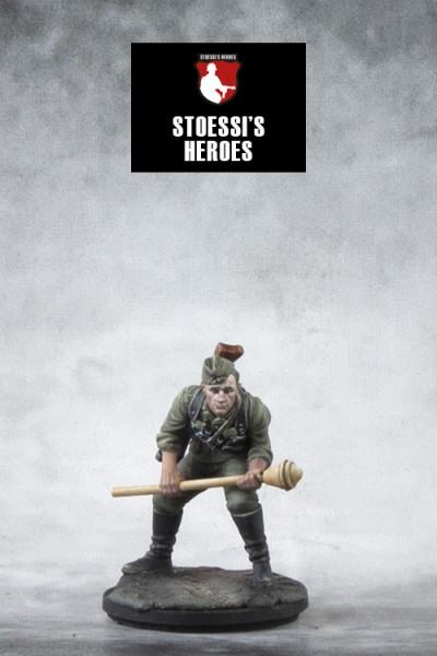 German Hauptmann & Infantry Ace – Günther Viezenz