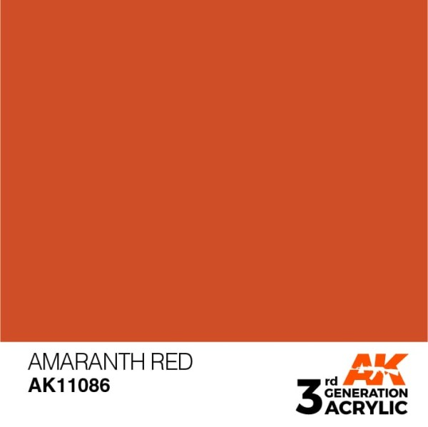 Amaranth Red - Standard