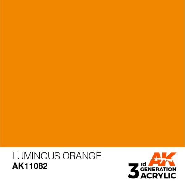 Luminous Orange - Standard
