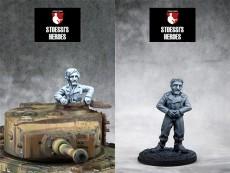 German Feldwebel & Panzer Ace – Kurt Knispel