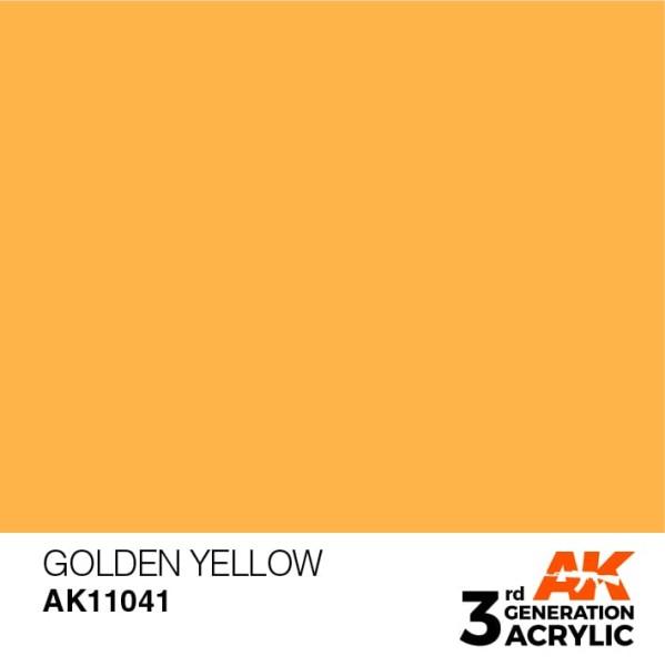 Golden Yellow - Standard