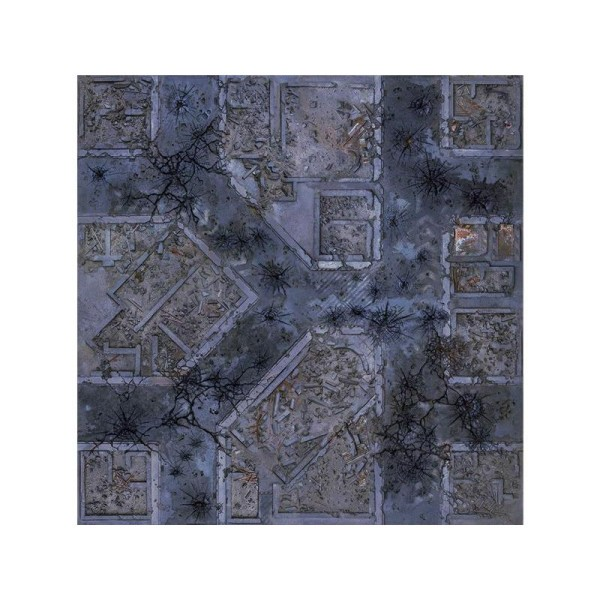 Warzone City 4x4 Gaming Mat