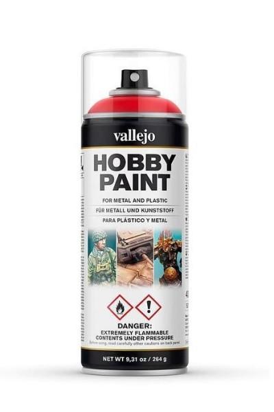 Vallejo Hobby Paint Spray Scarlet Red
