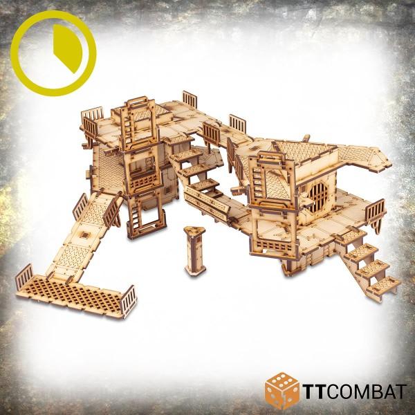 Sector 2 - Slum Shanties