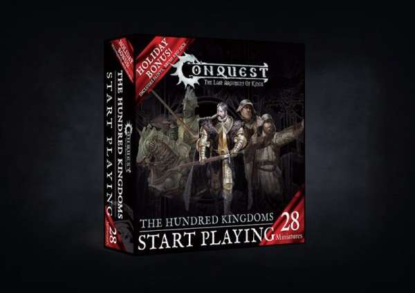 Conquest - Hundred Kingdoms: Start Playing Holiday Gift Set Wave 1