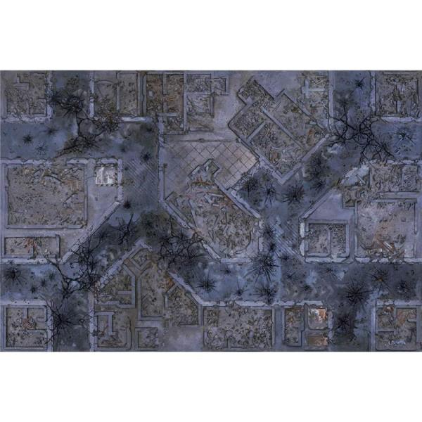 Warzone City 6x4 Gaming Mat