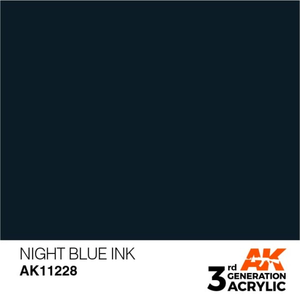 Night Blue - Ink