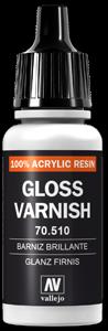058 Vallejo Glanzlack (Glossy Varnish), 17 ml (510/VA193)