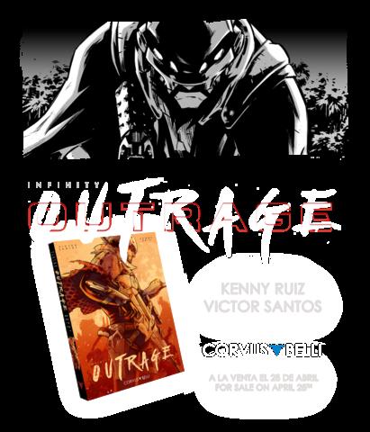 Infinity: Outrage Manga