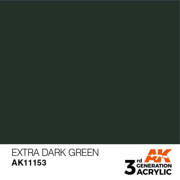 Extra Dark Green - Standard