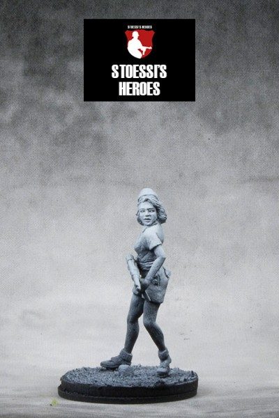 French Resistance / SOE – Simone Segouin aka Nicole Minet