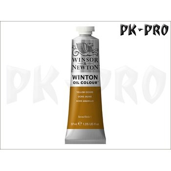 Winton Oil Colour Yellow Ochre