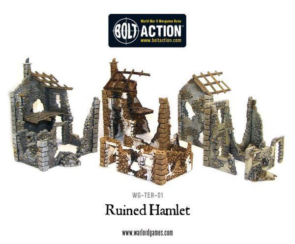 Ruined Hamlet plastic boxed set